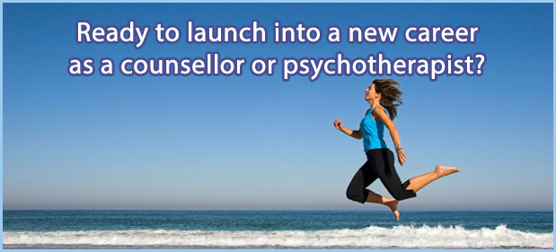 Ready to launch into a new career as a counsellor or psychotherapist?