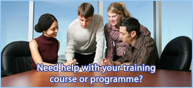 Need help with your training course or programme?